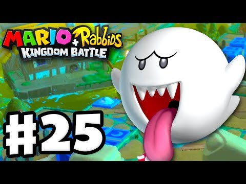 Mario + Rabbids Kingdom Battle - Gameplay Walkthrough Part 25 - World 3! Secret Swamp!