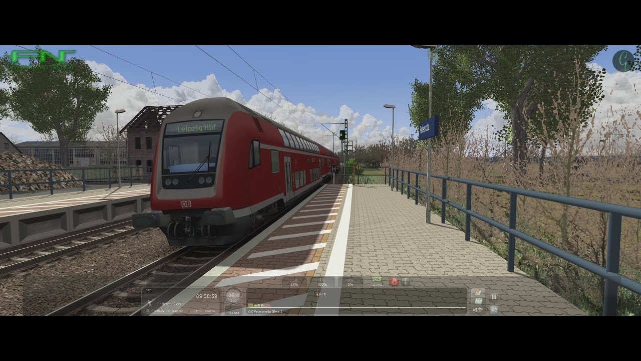 ʜᴅ Train Simulator 2019 64 Bit Berlin Leipzig Karriere 4 S Bahn Nach Leipzig