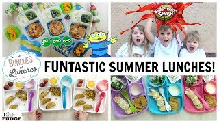 FUNtastic Summer Lunches | Toy Story Themed Lunch | Watermelon Smash Challenge