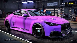 Need for Speed Heat - Infiniti Q60 S 2017 - Customize | Tuning Car (PC HD) [1080p60FPS]