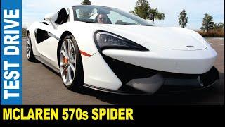 2019 McLaren 570s Spider [Part 2] drone follows super race car   Jarek in Wesley Chapel Florida USA