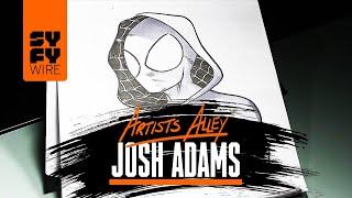 Spider-Gwen Sketched By Comic Book Artist Josh Adams | SYFY WIRE