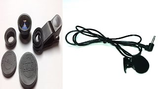 Микрофон петличка_&_линзы для телефона 3in1#МОЖНОВСЁСБИЛАЙН