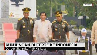 kunjungi indonesia presiden duterte ziarah ke tmp kalibata