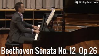 Beethoven Piano Sonata No 12 Op 26 - 4th movement: Allegro
