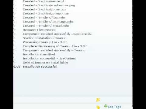 Live Content - Installation | DotNetNuke Module | Mandeeps.com