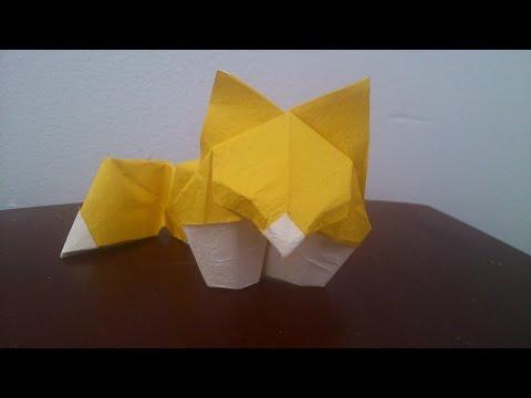 Origami Fox Cube-Hoàng Tiến Quyết