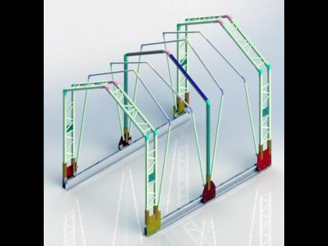 Retractable Tarp System - Выдвижная система Tarp - نظام القنب قابل للسحب