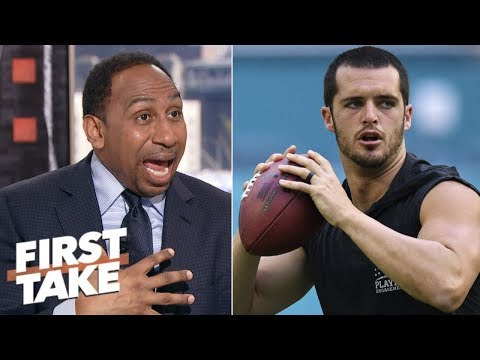 Is Derek Carr's time as the Raiders' quarterback running out? | First Take