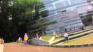 Suasana Universitas Indonesia Di Akhir Pekan