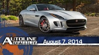 Used Car Prices to Drop, First Look: 2015 Jaguar F-TYPE Coupe - Autoline Daily 1431