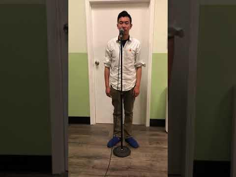 "Peng Wu(Baritone)age:20/ Adult  ""Torna Surriento""  Manhattan International Music Competition"