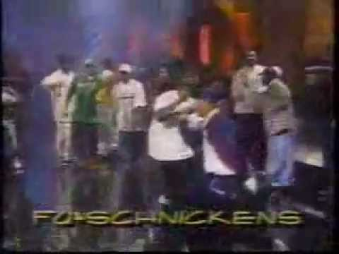 Rap All Stars @ Arsenio Hall Live Show (Das EFX, Wu-Tang, Fu Schickens, ATCQ, KRS One and others)