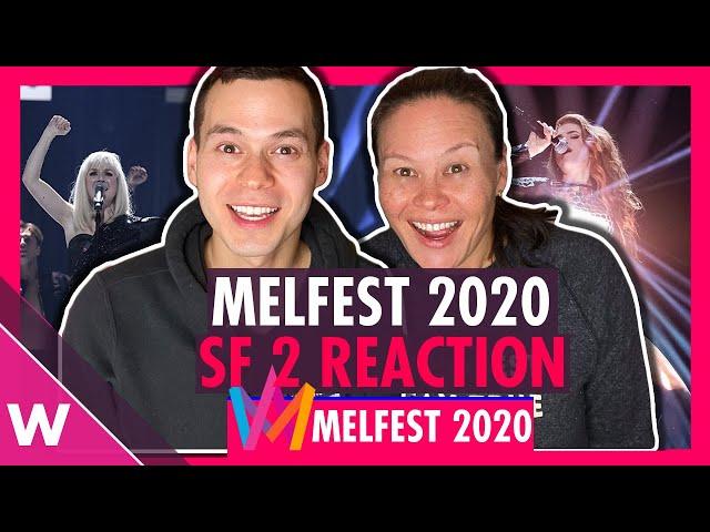 Melodifestivalen 2020 Semi-Final 2 results: Anna Bergendahl and Dotter win
