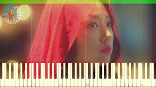 Loco & U Seungeun - 별 (Little Prince) Memories of the Alhambra OST Part 1 Piano Tutorial