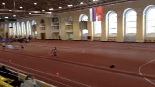 Ветераны Легкая атлетика Ленинград 24 01 2015 Тройной 3