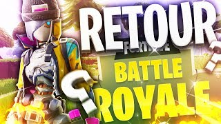 I AM OF RETOUR ON FORTNITE?! (CODE: BYSLIDE)