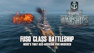 World of Warships - Fuso Class Battleship