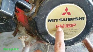 Chạy thử động cơ Mitsubishi xăng 3 năm Không sử dụng tới/Ship engine.