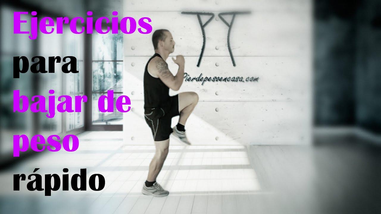Como puedo bajar de peso haciendo ejercicio en casa - Como puedo adelgazar rapido en casa ...