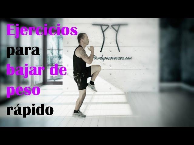 ejercicios en video para bajar de peso
