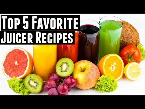 My 5 favorite juicer recipes | Green Juices, Fruit Juices, & Vegetable Juices