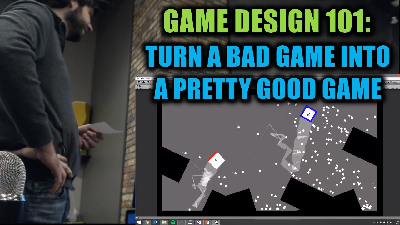 Game Design Turn A Bad Game Into A Pretty Good Game YouTube - Game design 101