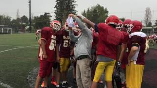 W.J. Mouat Hawks 2016 football