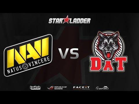 [EN] Na'Vi vs dAT - (STARLADDER Starseries XI)