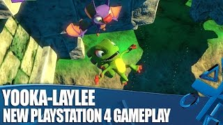Yooka-Laylee on PS4 - New Classic Platforming Gameplay
