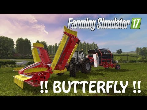 BUTTERFLY CUTTING in Farming Simulator 2017 | EVERYTHING IS GOOD | PS4 | Xbox One