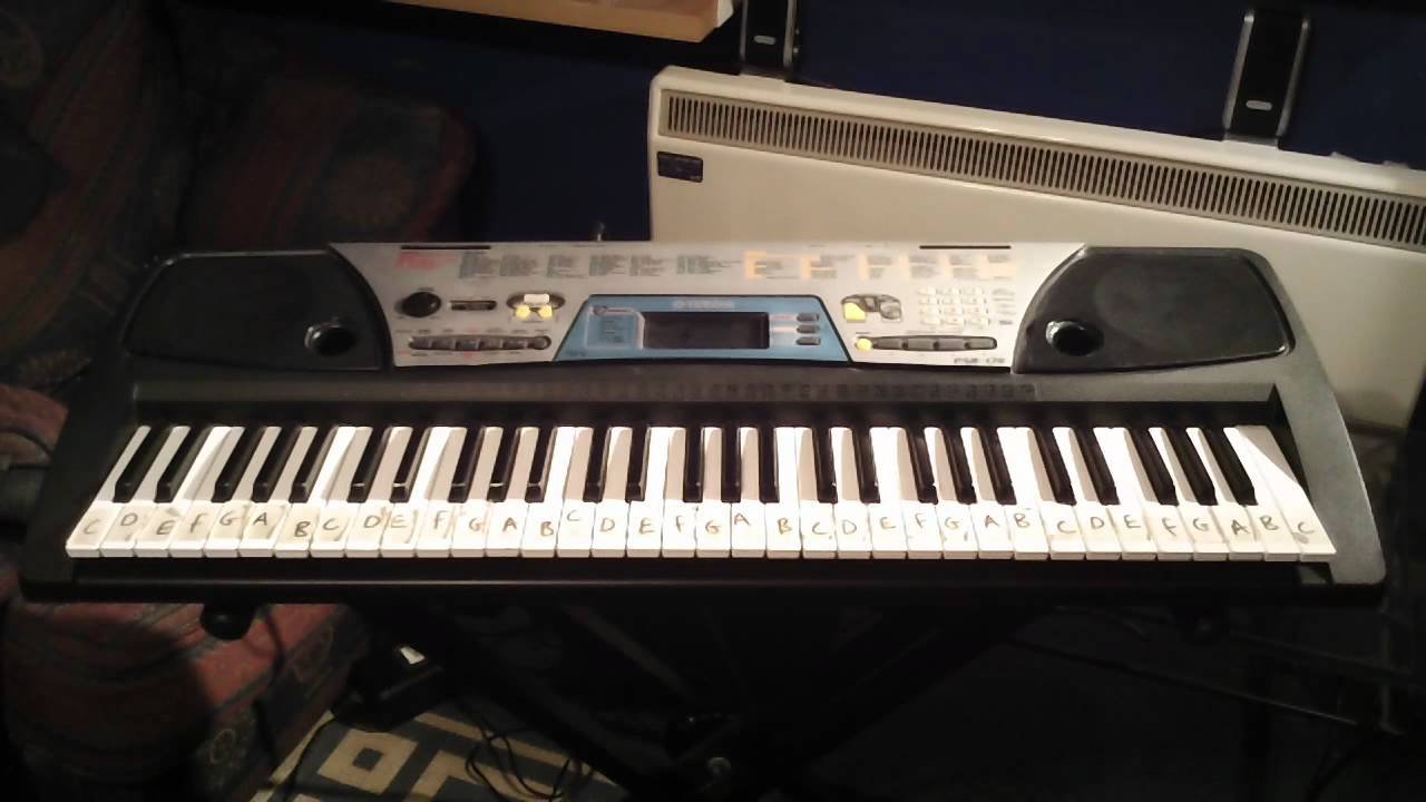 Yamaha PSR 170 Keyboard 100 Demonstration Songs Part 1 5