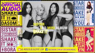 [MP3/DL]01. SISTAR (씨스타) - Shake It [VOL.3
