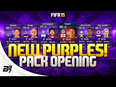 NEW PURPLES AND RECORD BREAKER TERRY! | FIFA 15 PACK OPENING!