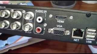 Посылка из Китая Регистратор для видеонаблюдения(, 2014-04-27T18:46:03.000Z)