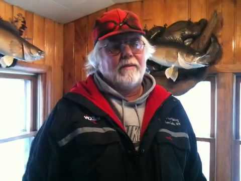 Jan 11 mille lacs lake fishing report youtube for Lybacks ice fishing