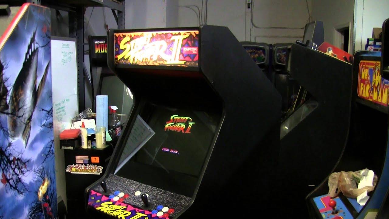 Sold Street Fighter 2 The World Warrior Arcade Game Machine