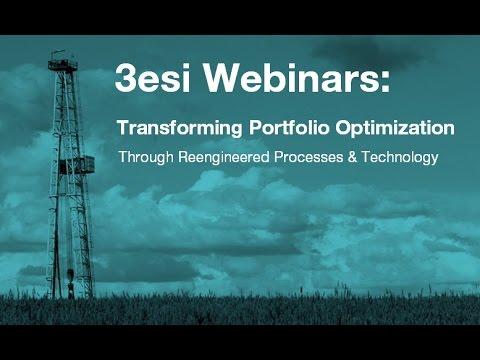 3esi Webinar - Transforming Portfolio Optimization