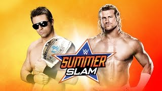 Dolph Ziggler vs. The Miz - SummerSlam 2014 - WWE 2K14 Simulation