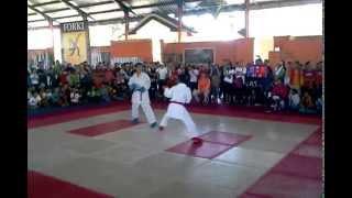 joshua vs rifky  karate walikota 2014