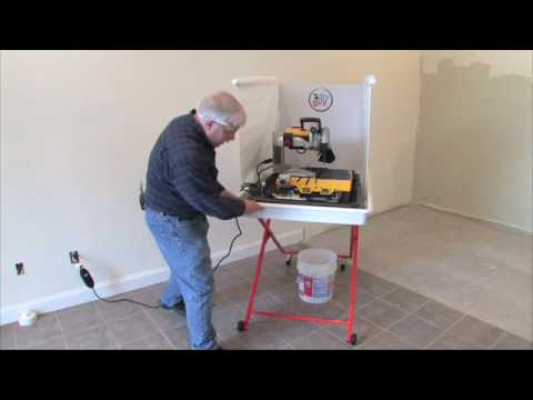 Wet Saw Indoors & Wet Saw Indoors - YouTube