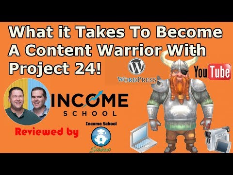 How Income School Keeps Its Project 24 Members Really Motivated - The Content Warrior Challenge