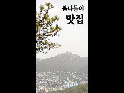 봄나들이 맛집 북악스카이웨이 팔각정