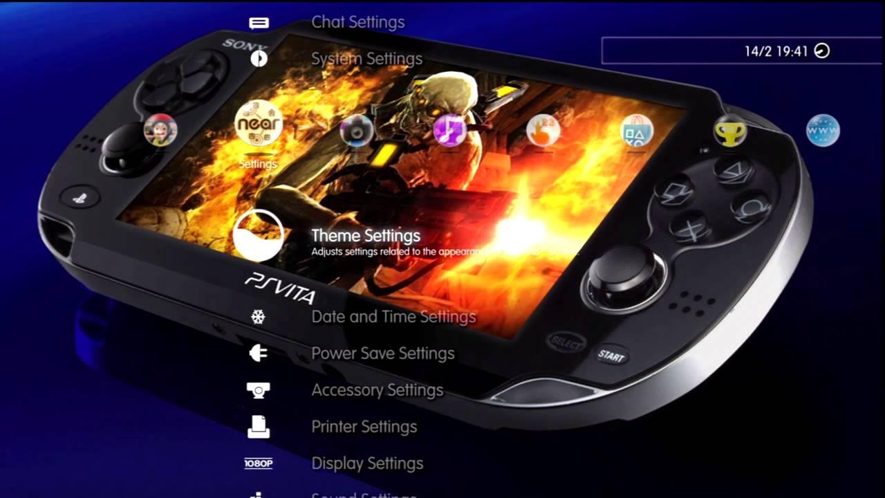 FREE PS Vita PS3 Alpha Slideshow Dynamic Theme - YouTube
