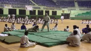 Judo Japan-India Sports Festival. Sensei Rajagopal