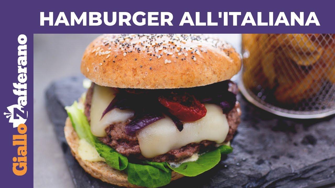 Youtube Ricetta Hamburger.Hamburger All Italiana Youtube