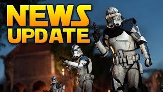 BIG NEWS UPDATE: Full Squad System Details, Matchmaking, Upcoming CTs & More - Battlefront 2