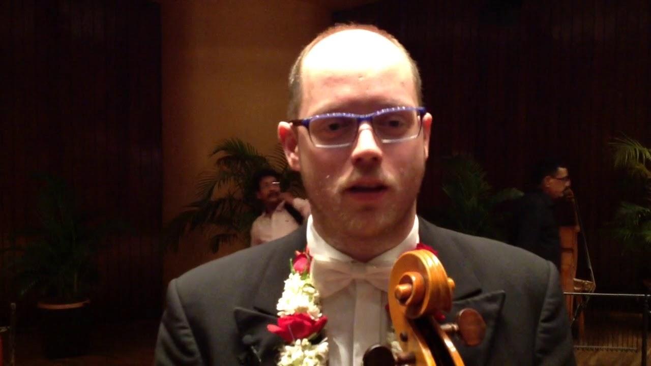 Cellist Nikolaus von Bülow über das indische Publikum