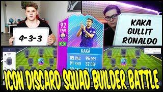 ICON DISCARD! ⛔️🔥 92 KAKA SBC SQUAD BUILDER BATTLE vs. RealFifa! 🔥 Fifa 18 Ultimate Team Deutsch