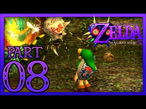 The Legend of Zelda: Majora's Mask 3D - Part 8 - Swamp Spider House